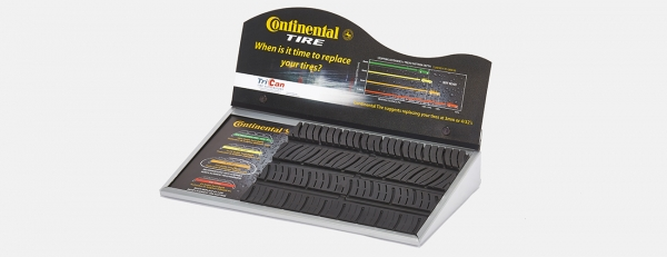Continental Tire Tread Ware Store Display
